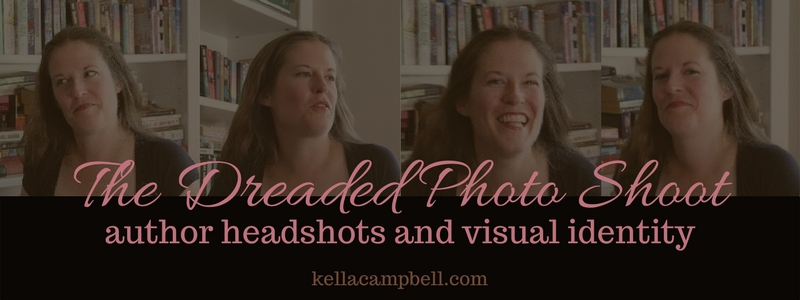 The Dreaded Photo Shoot: author headshots and visual identity
