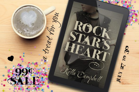 A treat for you: Rock Star's Heart 99¢ sale July 27 to 30